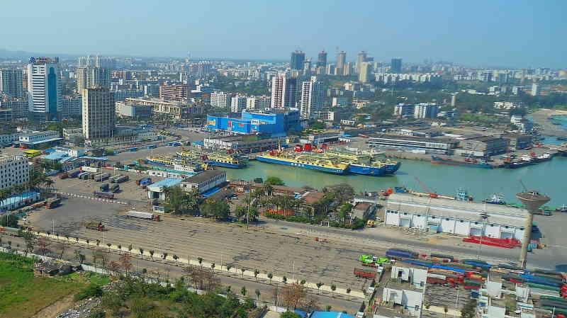 La Chine exporte ses productions partout dans le monde.