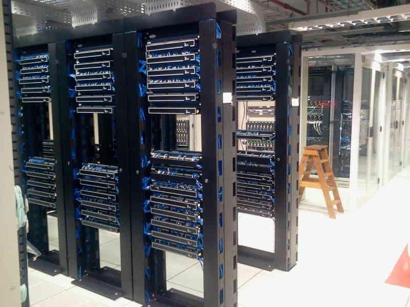Datacentres, les centres informatiques qui stockent vos données.