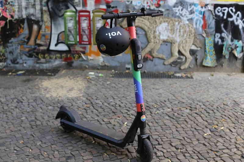 nouveau mode de transport, la trottinette électrique