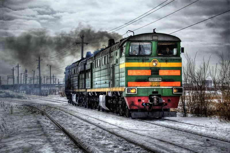 locomotive diesel, une époque d'hier.