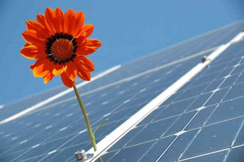 L'avenir c'est l'énergie solaire.