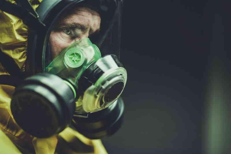 Un masque à haute protection pour éviter toute contamination.